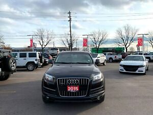 2015 Audi Q7 PREMIUM |NAVIGATION|LEATHER|YEAR-END SPECIAL!|