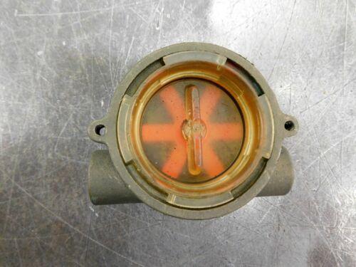 GEMS Sensors 142541 RFI Series Flow Indicator, 2500B-0.25 NPT