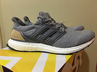 adidas Ultra Boost 3.0 Grey/Olive Lands Overseas