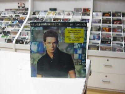 ALEJANDRO SANZ CD SINGLE GERMANY Y SI FUERA ELLA 1997