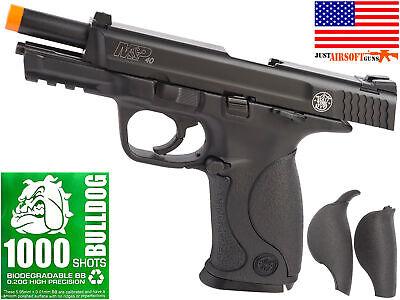 Umarex Smith & Wesson M&P 40 Airsoft Pistol CO2 Blowback FREE 1000 Bulldog BBs