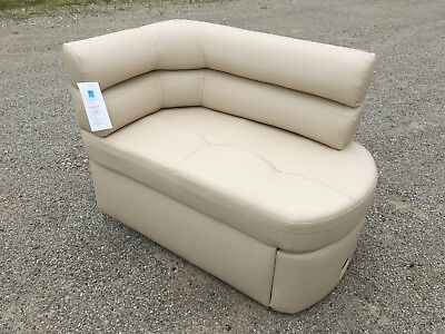 Flexsteel Cream Single (1 piece/section)  RV dinette booth motorhome seats nook
