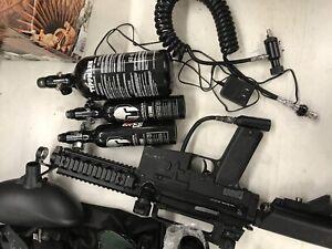 Paintball guns and equipment