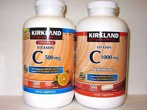 Vitamin c 500mg or 1000mg
