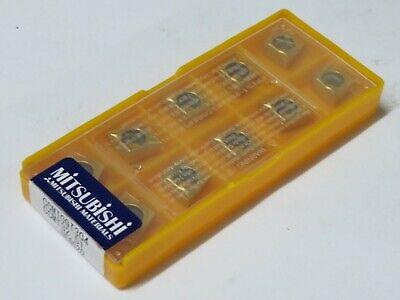 10 Pcs Mitsubishi Carbide Inserts Ccmt 32.51 Ccmt 09t304 Grade Ue6020