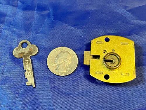 Vintage Eagle Cabinet or Drawer Latch-Bolt Lock w/Key