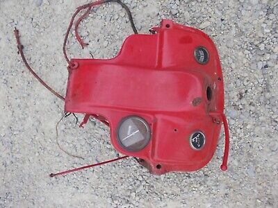 Ford 8n Tractor Late Model Dash Assembly W Gauges Tachometer 8n Key Back
