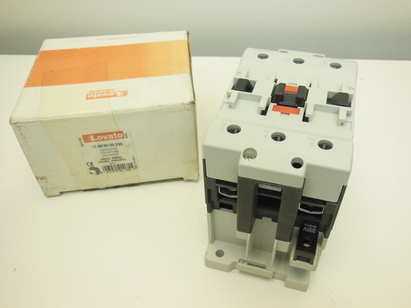 Lovato 11 BF50 00 230 contactor 230V 50A