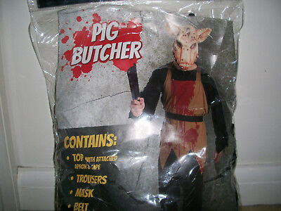 Horror Halloween Pig Butcher costume