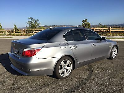 2006 Bmw 5 Series 525I Bmw 2006 525I 4 Door Sedan