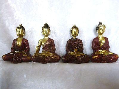 Buddha Meditation Mudra Thai indisch klein Glücksbringer 1St.VERSANDKOSTENFREI!
