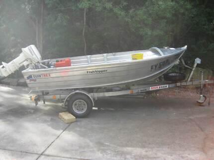 Quintrex Fishnipper 11ft fishing boat Mount Eliza Mornington Peninsula Preview