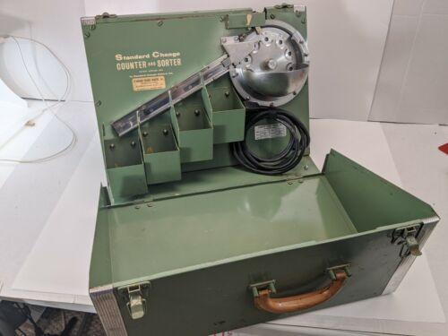 Vintage Standard Change Counter and Sorter model CS-100A - Works Good