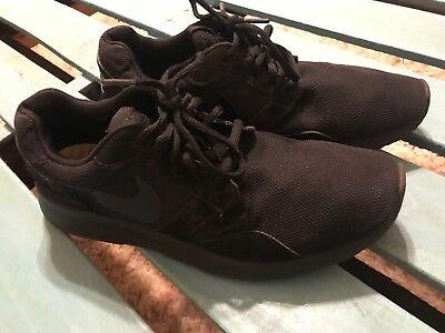 Size 9.5 Nike Women's Kaishi Black 654473 090 Running Shoe Nice Clean Shoe
