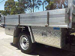 UNDER TRAY BODY ALUMINIUM TOOL BOX 600X400X200MM UTE TRUCK TRAILE Clayton Monash Area Preview