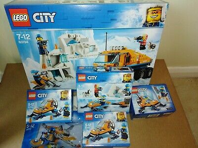 Brand New LEGO City Bundle 60194 Arctic Scout Truck, 60190, 60191 & 30310 _