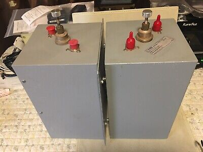 Emr Corp Uhf Radio Repeater Bandpass Cavity Filter 7x7x12 Square 1 Lot 2 Ea