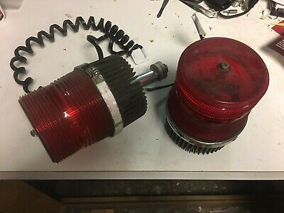 Federal Signal Fireball Ii 2 Strobe Light Fb2pst 12v