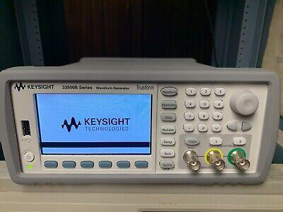 Keysight 33522b Waveform Generator 30 Mhz 2-ch With Arb - Iqpmemsec