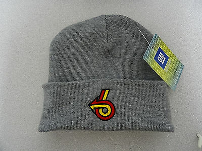 GM LICENSED BUICK POWER 6 TOSSEL CAP GRAND NATIONAL TUQUE/BEANIE/SKULL CAP GRY