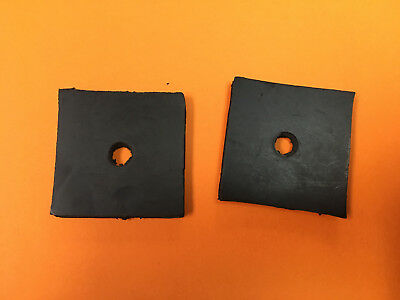 Lot Of 2 Allis Chalmers Tractor Radiator Mounting Pad B C Wd Wd45 Wc 70202158