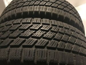 Set of 4 winter tires with rims