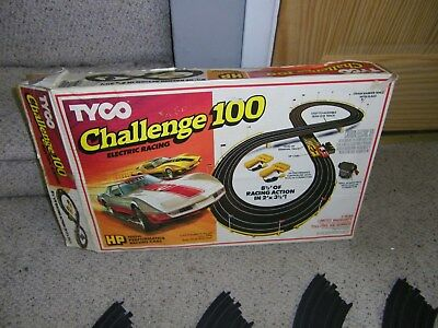 1c TYCO CHALLENGE 100   RACE SET NO CARS ABLE TO USE  OTHER SLOT CARS for sale  Buffalo