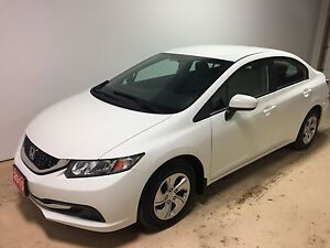 2015 Honda Civic LX Low Km's | Htd seats | Back up cam