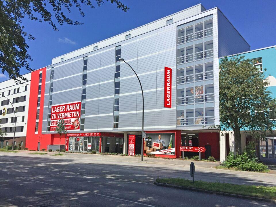 Lagerraum, Lagerplatz, Lagerbox mieten I 1€ f.d. ersten 4 Wochen in Nord - Hamburg Barmbek