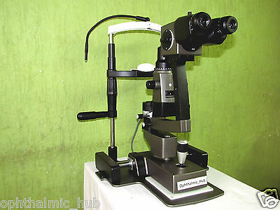 Slit Lamp Zeiss Type 3 Step Galilean Binocular Microscope Free Shipping