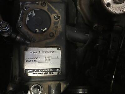 Yanmar Diesel Engine 4tnv94l- Pika Fuel Injector Lines Oem