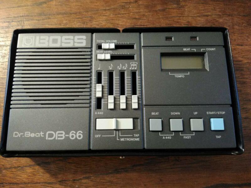 Boss Dr. Beat Db-66 Metronome Programmable Drum Beat