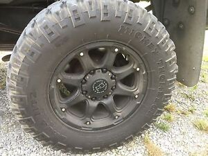 Mickey Thompson tires & Black Rhino rims NEW PRICE