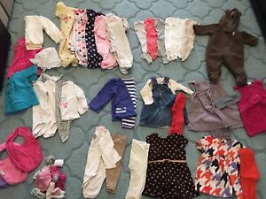 Baby girl clothing lot size 6 months