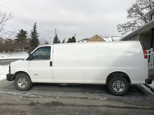 2014 Chevrolet express 3500 extended
