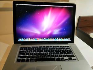 "Macbook pro 15"" 2009 excellent condition"