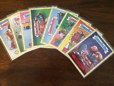 Garbage Pail Kids Battle Of  The Bands yellow Cards You Pick