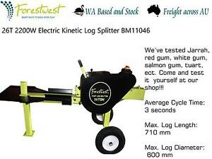 26T Fast Kinetic 3500W Electric Log Splitter Forestwest BM11046 Canning Vale Canning Area Preview