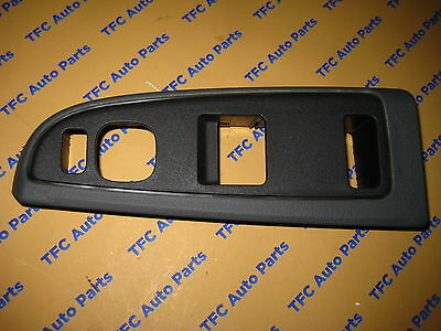 Chevy GMC Silverado Sierra Ext Cab Drivers Side Master Switch Bezel Plate OEM