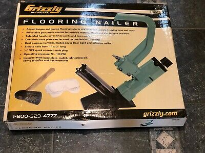 Grizzley Floor Nailer H7826