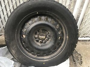 Pneus d'hiver / winter tires presque neuf / almost brand new