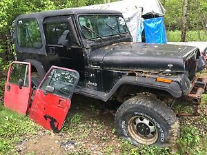 93 yj lifted 133,000km manual no ownership
