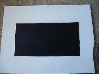 0,5 Gummiunterlage (17 cm x 10 cm ) 0,5 mm Gummi Platte Mate Dichtung Schiene