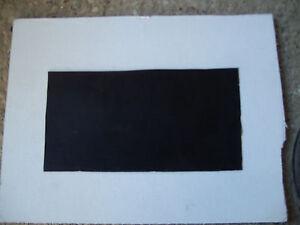 Gummiunterlage 1x ( 20 cm x 10 cm ) 5 mm Gummi Platte Matte Dichtung Schiene NR8
