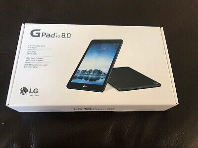 LG G Pad F2 8.0 16 GB Android Tablet for Sprint - LG-LK460 Original Box NEW