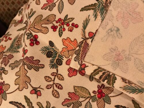 "Custom-made w/ LONGABERGER Fall Autumn Path Table RUNNER 10"" x 35"" +/-"