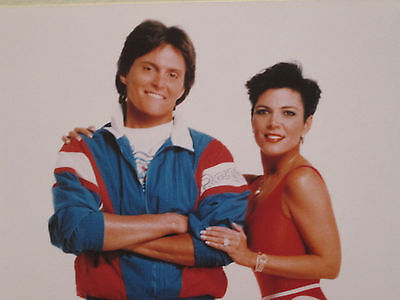 Bruce   Kris Jenner  Kardashian   Color Publicity Photo   8 X 10