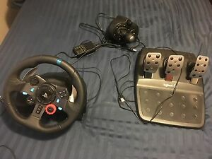 Logitech g29 wheel and shifter