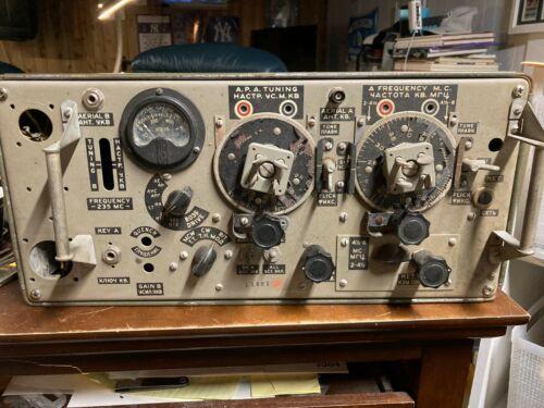 Wireless Set No 19 WWII Radio Transceiver British