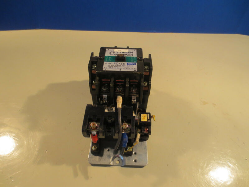 MATSUSHITA AC MAGNETIC CONTACTOR FC-35 100V